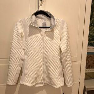 New Balance White Heat Loft Jacket